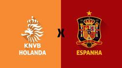 ACOMPANHE: Espanha x Holanda ao vivo - um revival de