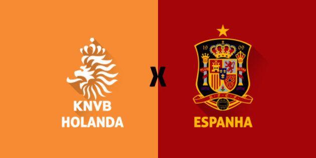 Espanha x Holanda ao vivo: partida revive em Salvador a final da Copa