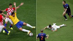 Quem é o melhor ator da Copa, Fred ou Diego