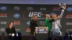 UFC: Brasileiro posta montagem nocauteando irlandês depois de