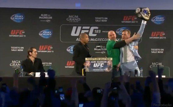 UFC: Brasileiro José Aldo posta montagem nocauteando irlandês depois de