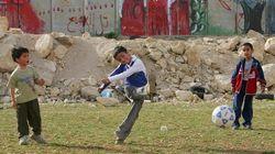Conflito em Gaza mina evolução do futebol profissional