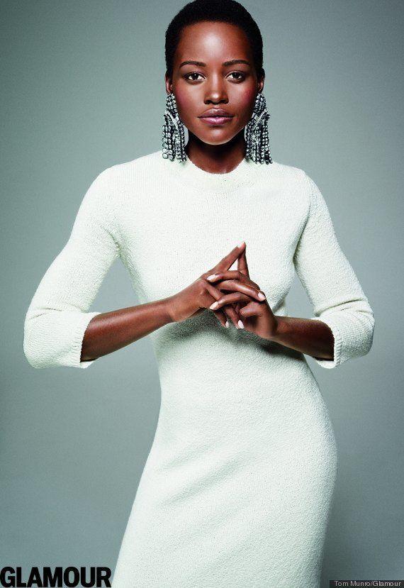 Lupita Nyong'o é eleita a mulher do ano pela a revista Glamour - e não é para menos