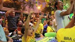 ASSISTA: a LINDA reação dos brasileiros ao 1º gol da seleção na