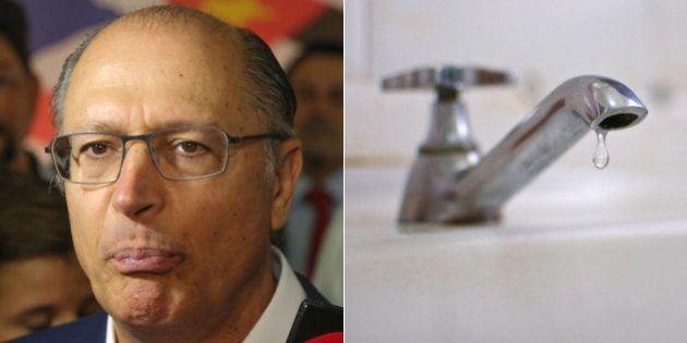 Crise da água em SP: Ao invés de seguir a lei federal, governo Alckmin promete brigar na Justiça para...
