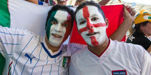 MANAUS, BRAZIL - JUNE 14: Fans arrive before the Group D match between England and Italy during the 2014...