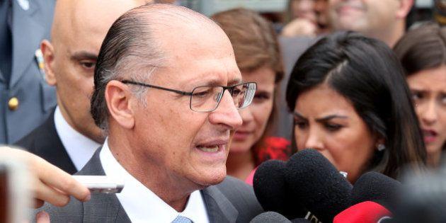Alckmin admite pela 1ª vez racionamento de água em