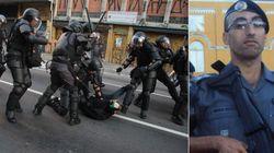 'Estrela' no Facebook, PM que atuou no ato #ContraTarifa prega o 'bandido bom é bandido