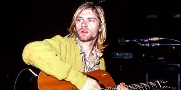 Kurt Cobain of Nirvana (Photo by Kevin