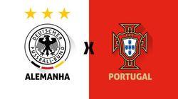 Acomapanhe ao vivo Alemanha x Portugal: estreia de Cristiano Ronaldo e Klose na
