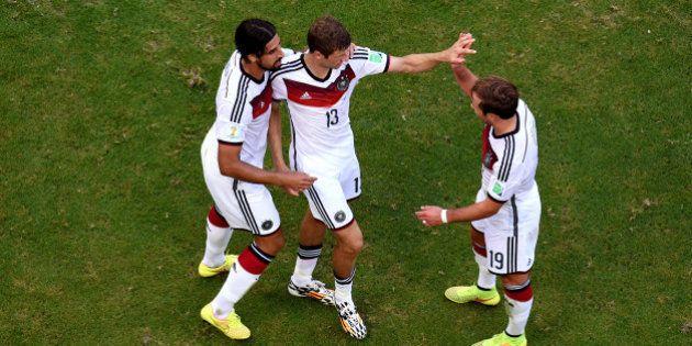 Alemanha x Portugal: alemães jogam fácil e goleiam portugueses em
