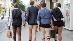 FOTOS: Homem usando shorts femininos é sempre