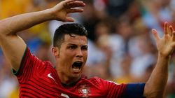 Um GIF resume tudo que Cristiano Ronaldo fez no jogo contra a