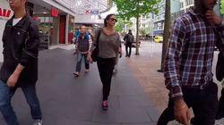 ASSISTA: mulher leva apenas duas 'cantadas' ao andar pelas ruas da Nova