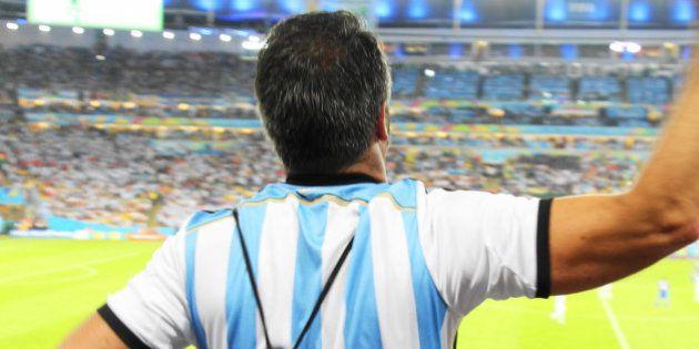 O melhor da Copa do Mundo no Brasil não é o futebol. Ou, a minha experiência no jogo Argentina e