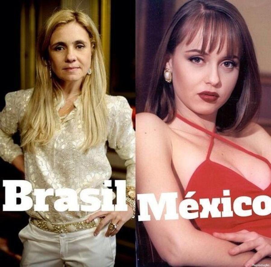 A imagem que resume a disputa entre Brasil e