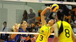 Brasil passa fácil pelas donas da casa italianas em 2ª partida do Grand