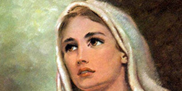 O anúncio do anjo Gabriel à jovem virgem Maria, que aceita a vontade de Deus para sua