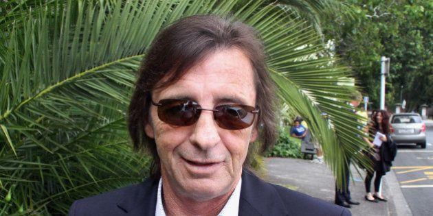TAURANGA, NEW ZEALAND - DECEMBER 01: (NEW ZEALAND NEWSPAPERS OUT) AC/DC drummer Phil Rudd leaves Tauranga...