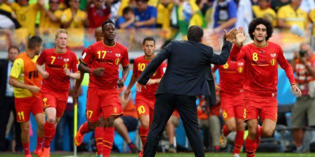 Bélgica passa sufoco, mas vence no