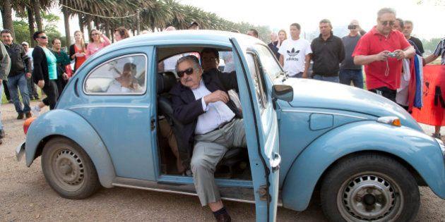 Sheik árabe oferece US$ 1 milhão pelo Fusca azul do presidente uruguaio, José