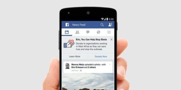 Facebook lança botão para doações a instituições de combate ao