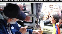 Após mais de um ano, Fidel faz aparição
