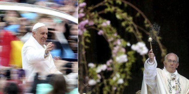 Em discurso de Páscoa, Papa expressa preocupação com conflitos no Iêmen e Síria e diz que reza pela paz...
