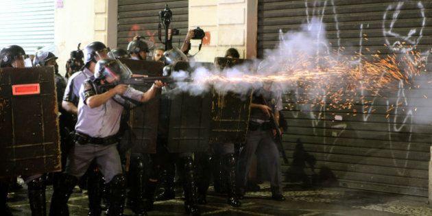 TJ-SP derruba liminar que proibia o uso de bala de borracha pela Polícia Militar em
