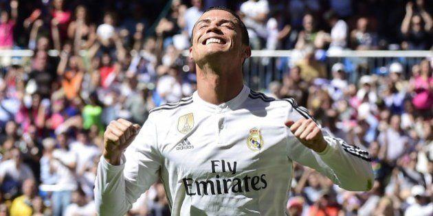 Com 5 gols de Cristiano Ronaldo, Real Madrid faz 9 a 1 no