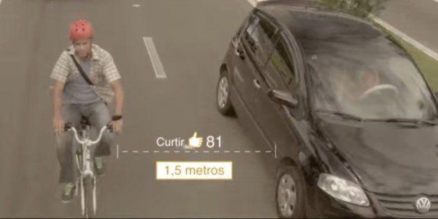 Detran do Espírito Santo realiza campanha para conscientização e respeito com o ciclista