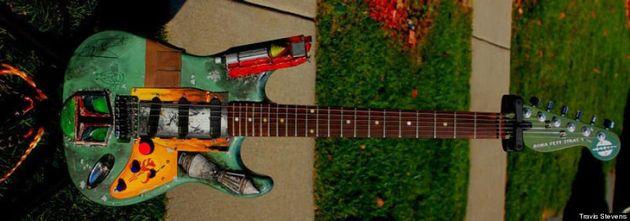 Estas guitarras temáticas de