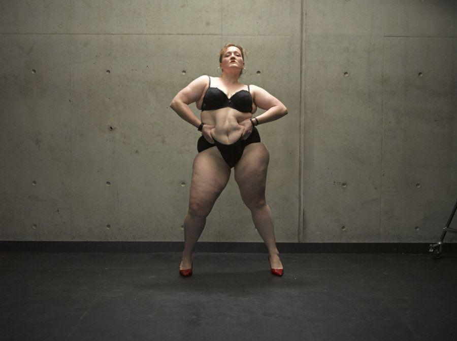 Esta artista 'plus size' quer fazer você repensar o conceito de beleza - de um jeito impressionante