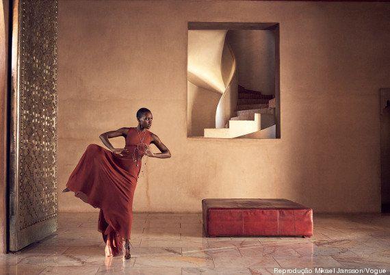 Lupita sendo MARAVILHOSA na capa da Vogue