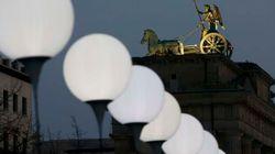 8.000 balões para lembrar o Muro de
