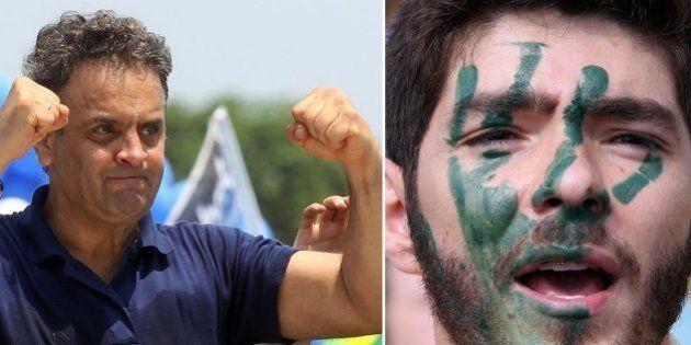 Aécio Neves mira jovens que vão às ruas contra Dilma Rousseff para engrossar filiações ao