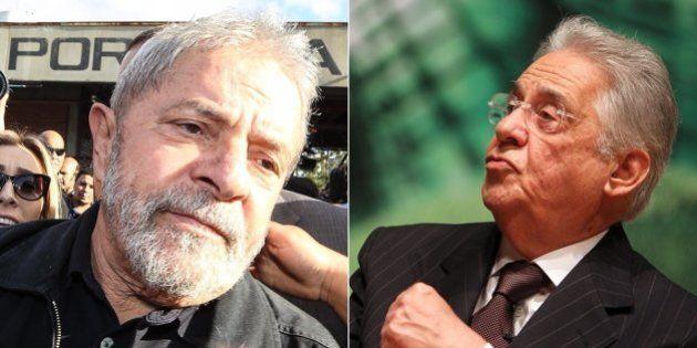 Fernando Henrique Cardoso diz que chamaria Lula para assistir a jogo do