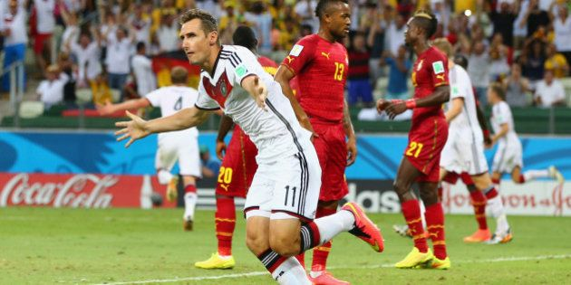 Klose marca no empate da Alemanha e iguala recorde de Ronaldo