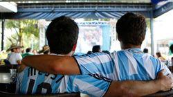 Nosso blogueiro argentino viu o Messi ganhar comendo feijoada na