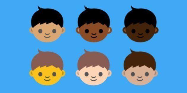 Emojis terão mais opções de cor de
