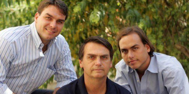Família Bolsonaro mais do que unida: Pai detona Aécio Neves e filhos atacam acordo do MST e José Mujica...