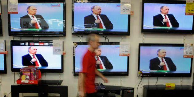 Rússia lança organização de mídia em