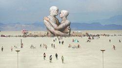 Exclusivo: a arte de outro mundo do Burning Man