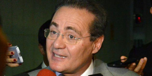 Campanha do presidente do Senado, Renan Calheiros, recebeu doações de empresas suspeitas de fraude em...