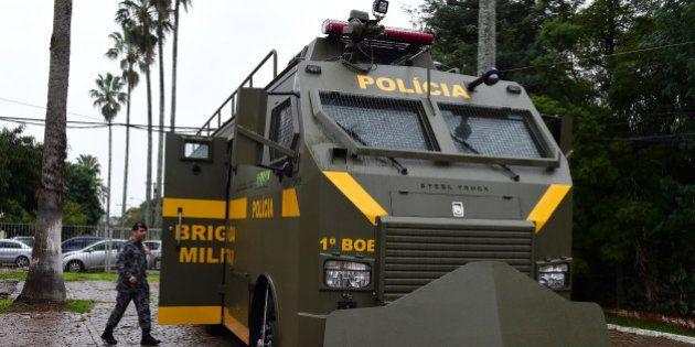 Porto Alegre revela blindado para conter possível violência de torcedores da