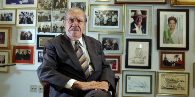 Senador José Sarney (PMDB-AP) desiste de concorrer à reeleição neste ano, diz