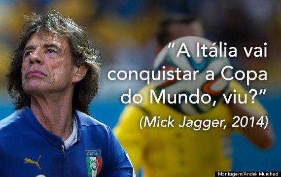 Mick Jagger se consagra como o maior pé frio da história das Copas após prever vitória da