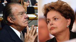 Sarney joga a toalha: 'Dilma insistiu que eu