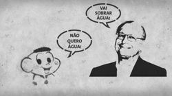 Cascão ou Alckmin: quem está falando a