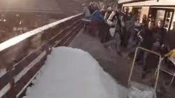 Um dia na vida desse esquiador mais parece um video